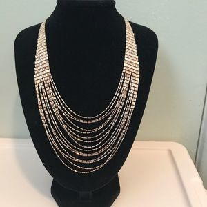Ladies multi strand necklace